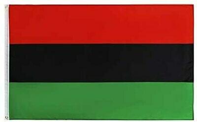 3 x 5 Pan African UNIA Flag