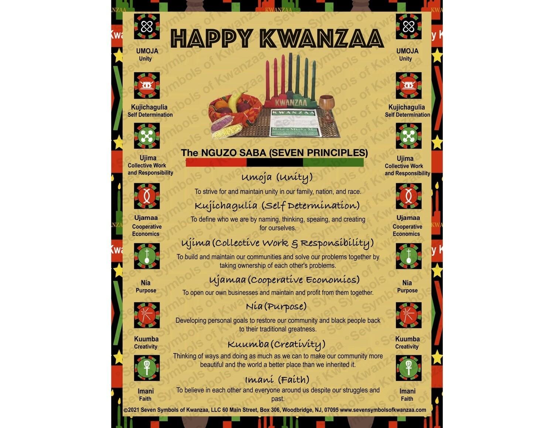 Happy Kwanzaa Poster 18 x 20