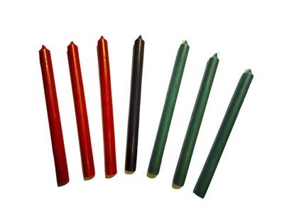 Kwanzaa Candle Set (7-Piece)