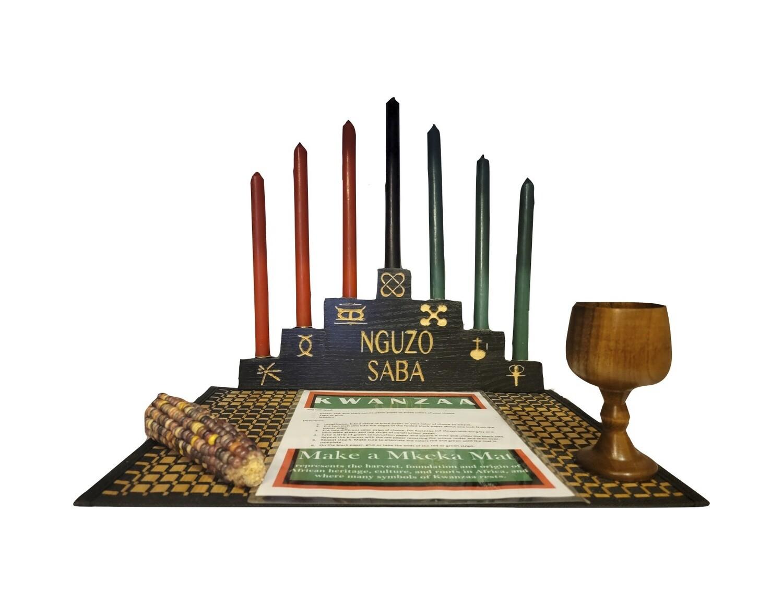 """Nguzo Saba' Kwanzaa Celebration Set"