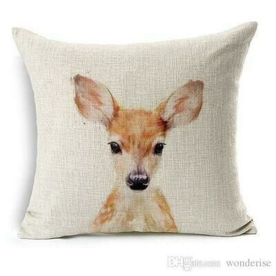 Pillow Sleeve Baby Animals Printed 40x40cm
