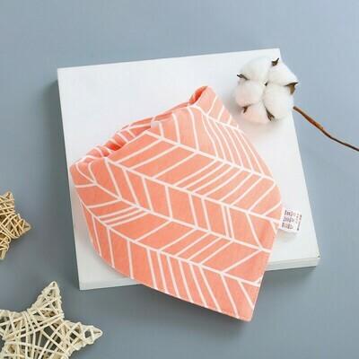 Bib Peach Stripe