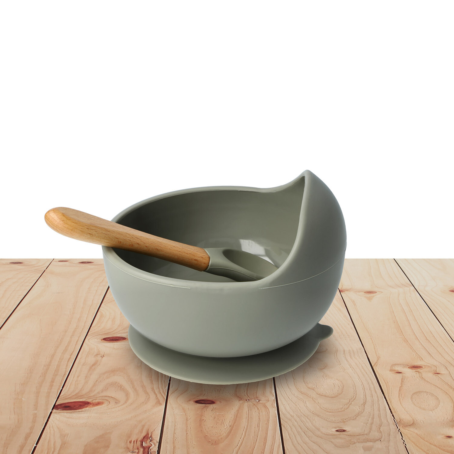Bowl Set Silicone Stone