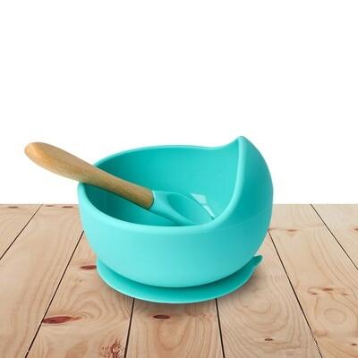 Bowl Set Silicone Turquoise