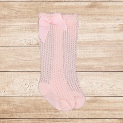 Socks Knitted Pink