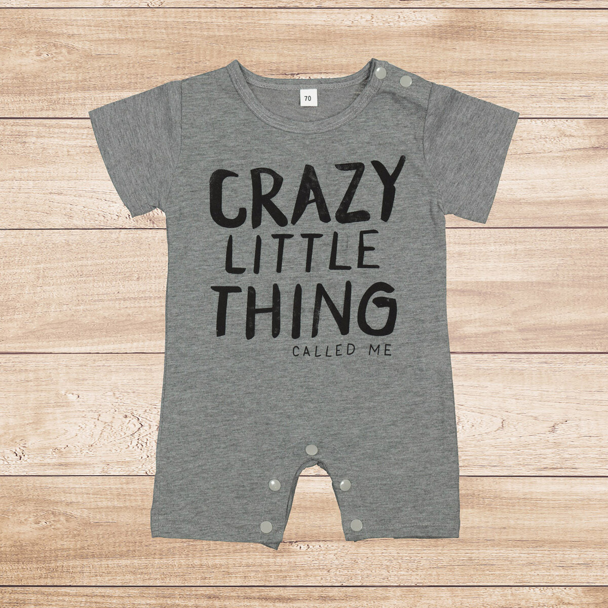 """Jumper Grey """"Crazy Little Things"""""""