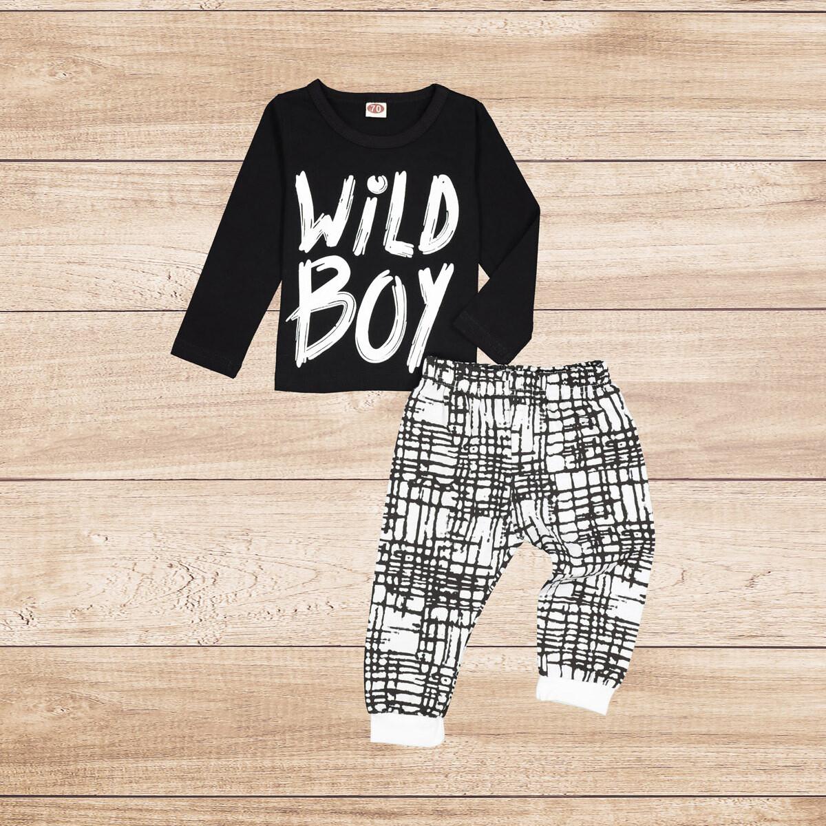 "Boys 2PC Set ""Wild Boy"""