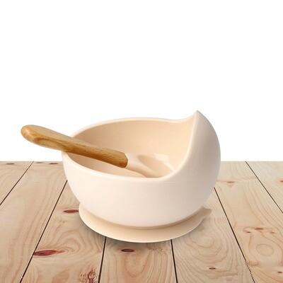 Bowl Set Silicone Blush Pink
