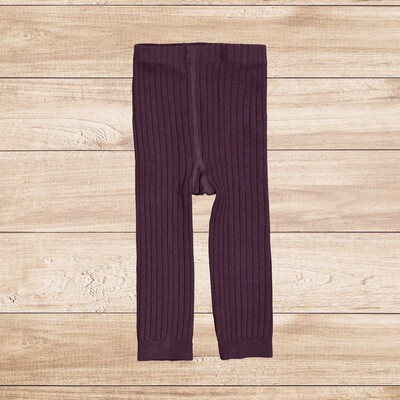 Winter Tights for Girls Purple