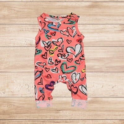 Jumper Pink with Hearts
