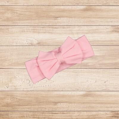 Headband Bow Light Pink