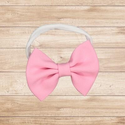 Headband Bowtie Barbie Pink