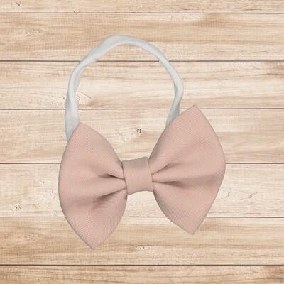 Headband Bowtie Blush