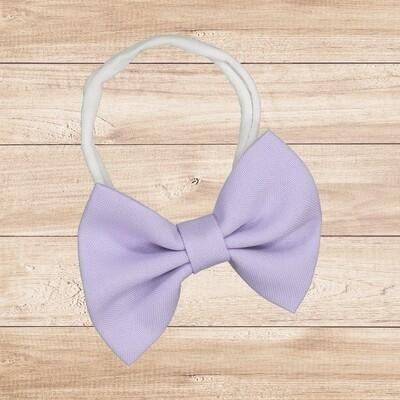 Headband Bowtie Lilac