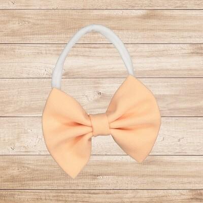 Headband Bowtie Peach