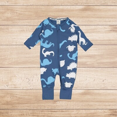 Onesie Long Sleeve Blue