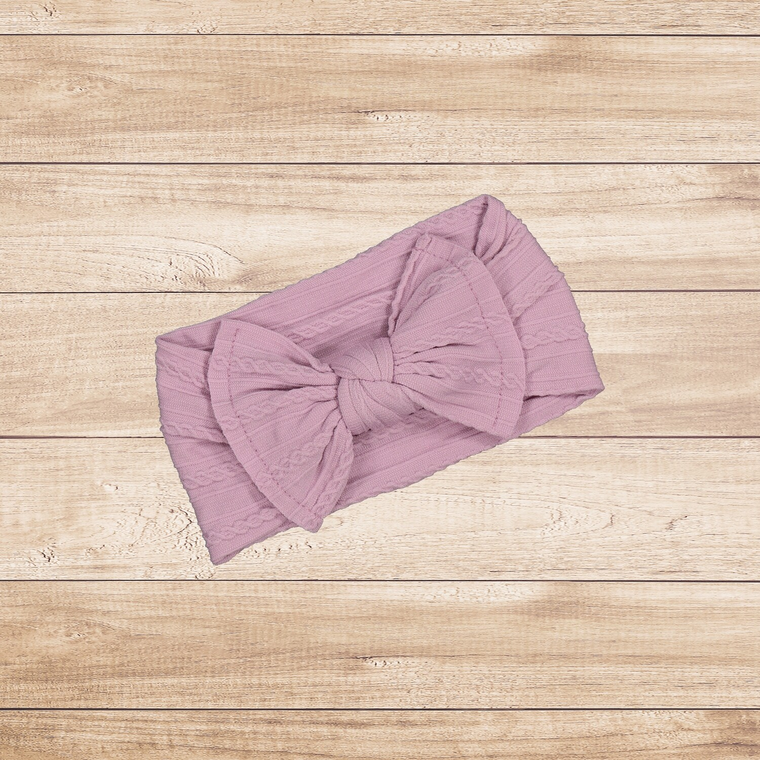 Headband Bow Purple
