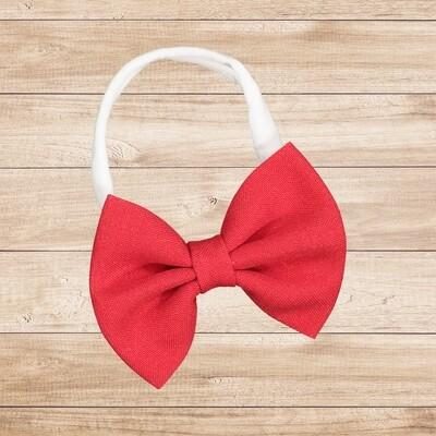 Headband Bowtie Red