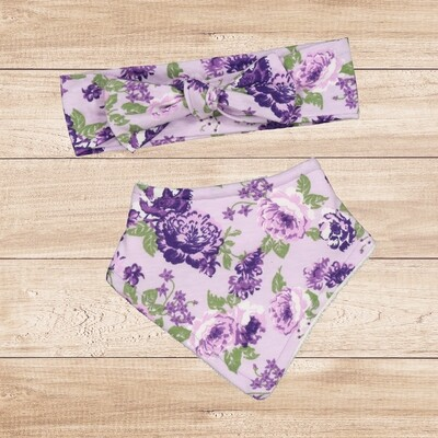 Bid Set Purple Floral