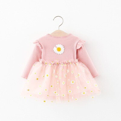 Pink Daisies dress