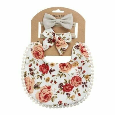 Headband and bib set