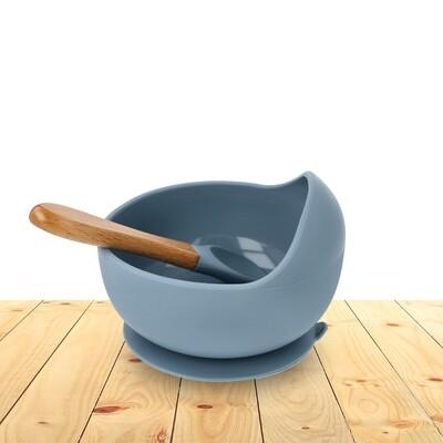 Bowl Set Silicone Sea Blue