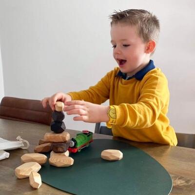 Balancing Blocks - Montessori Pack