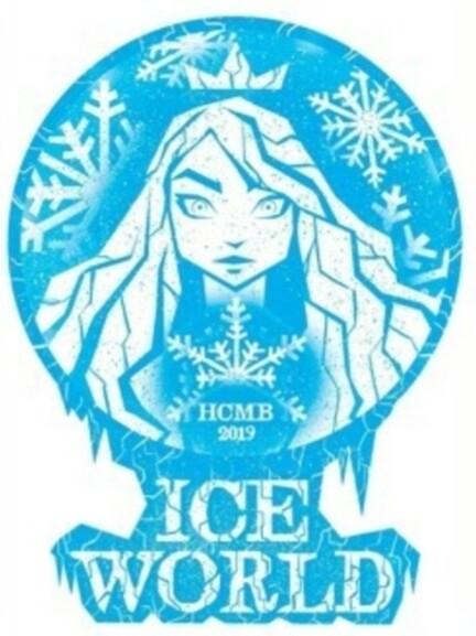 Sticker, Ice World