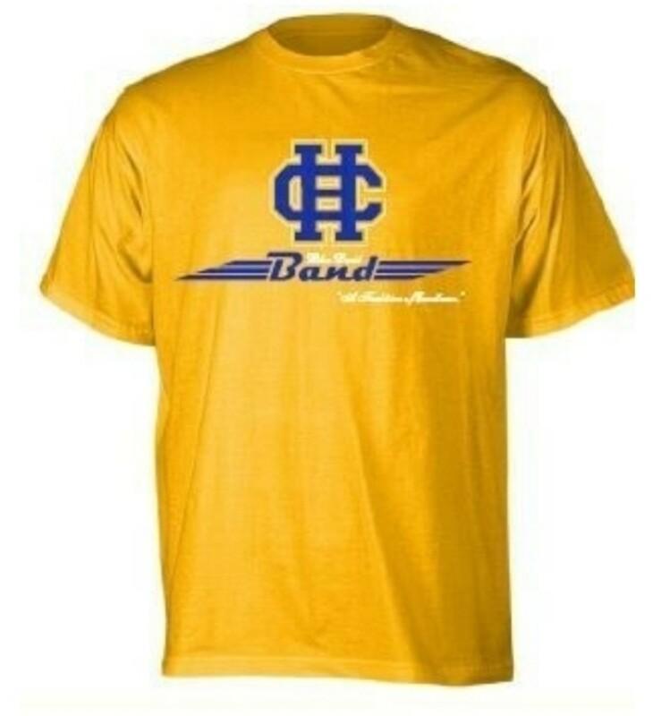 Clearance: 2X & 3X gold t-shirt