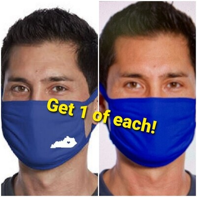 Masks, 1 of each blue style