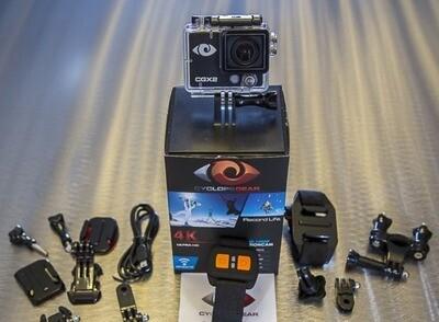 Cyclops Gear CGX2 Caméra d'action Wi-Fi 4K