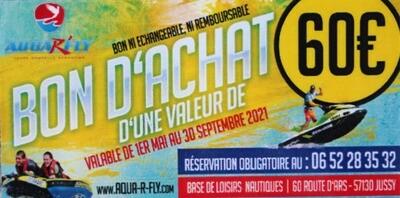 BON D'ACHAT DE 60€