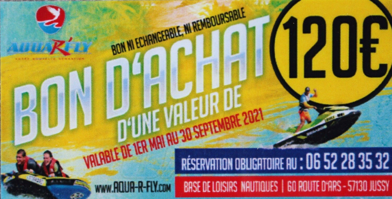BON D'ACHAT DE 120€