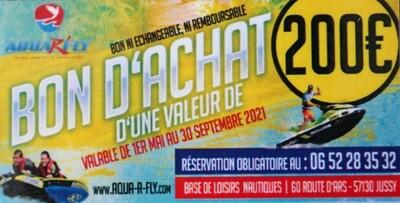 BON D'ACHAT DE 200 €