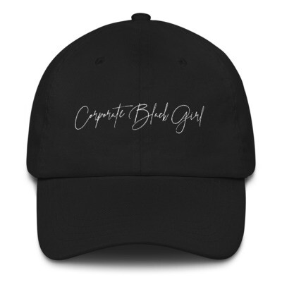 Corporate Black Girl Dad Hat