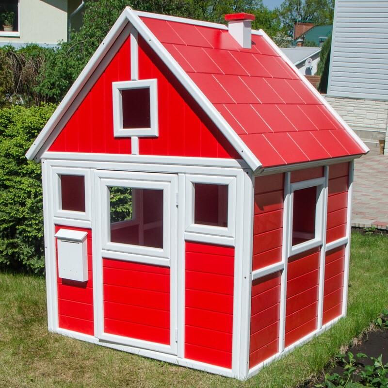 Детский домик (с покраской)