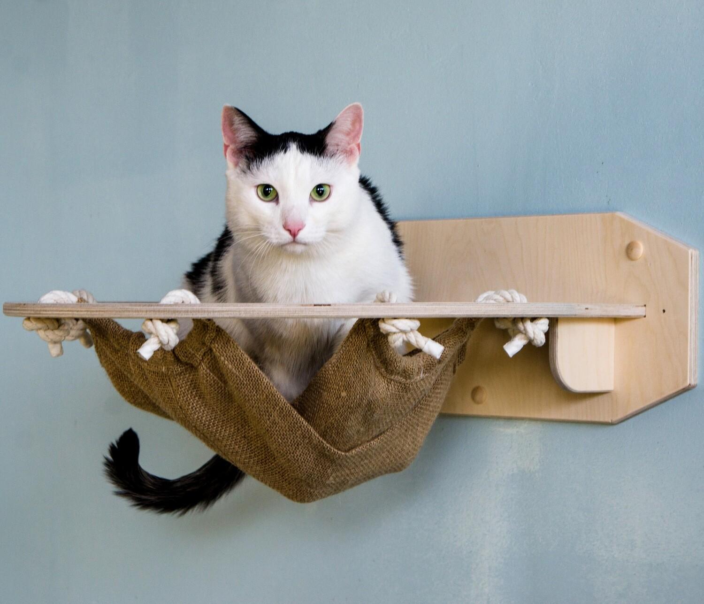 Гамак круглый для кошки