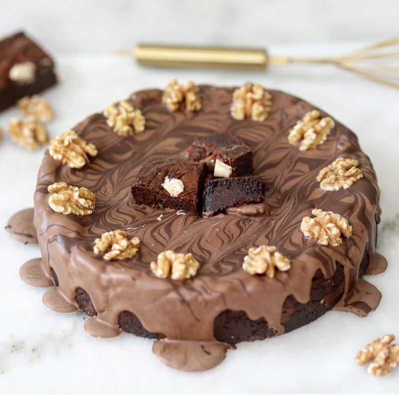 WALNIE Cookie-taart 10pers.