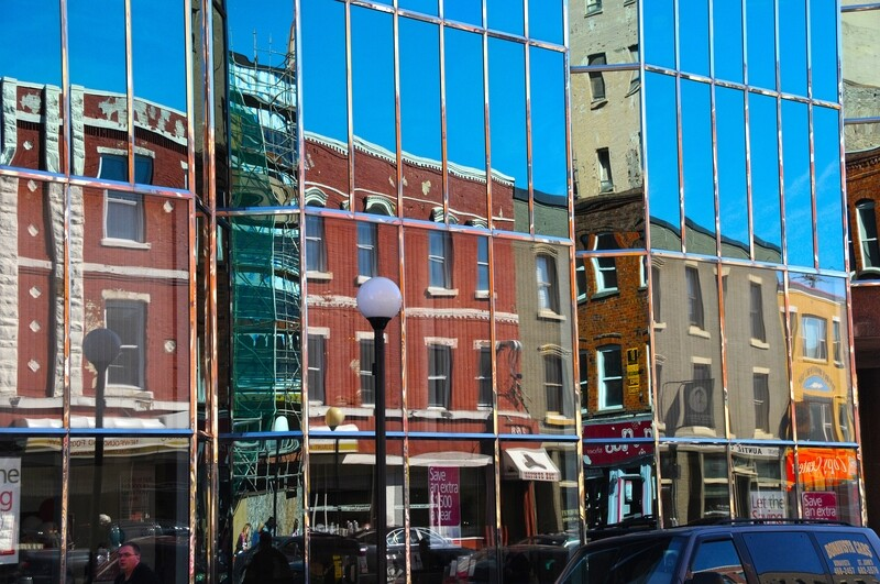Water Street Reflections