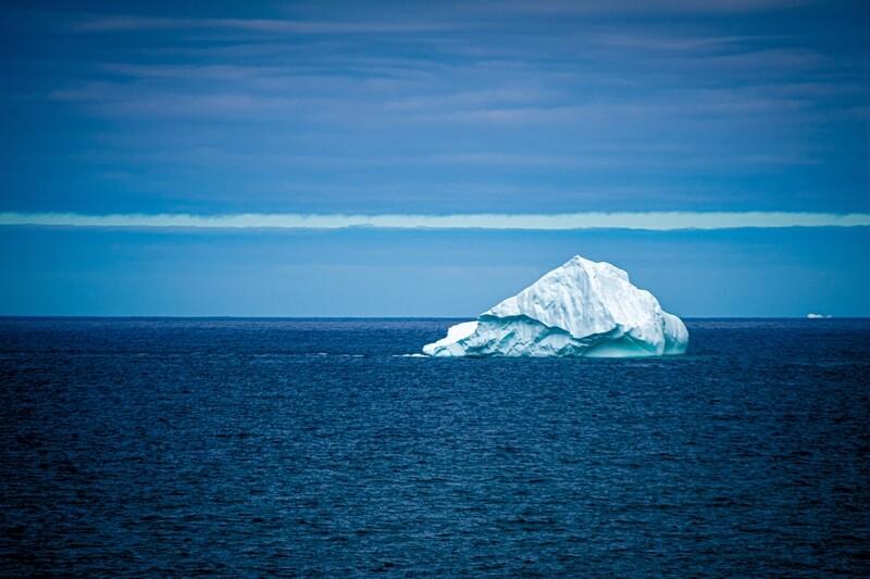 A Lone Berg