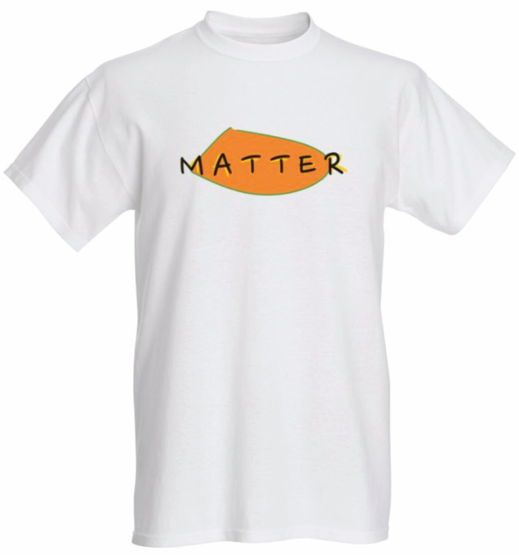 BLM T shirt (White)