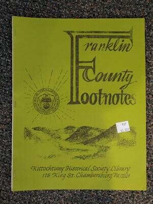 Franklin County Footnotes 1982 (KHS) Vol. 3 No. 2