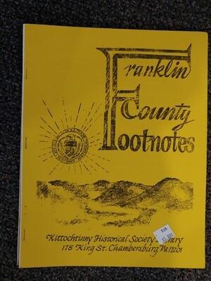 Franklin County Footnotes 1983 (KHS) Vol. 4 No. 3