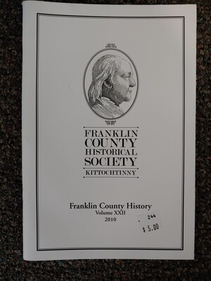Franklin County Historical Society Journal 2010