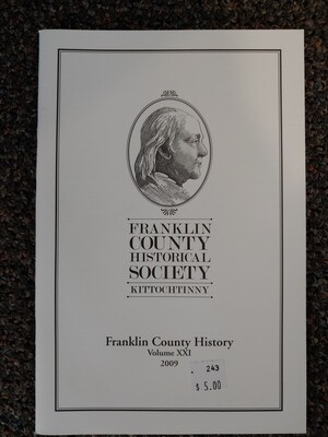 Franklin County Historical Society Journal 2009