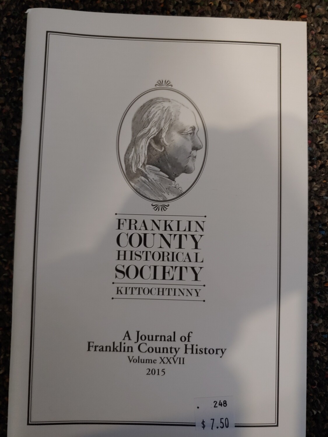 Franklin County Historical Society Journal 2015