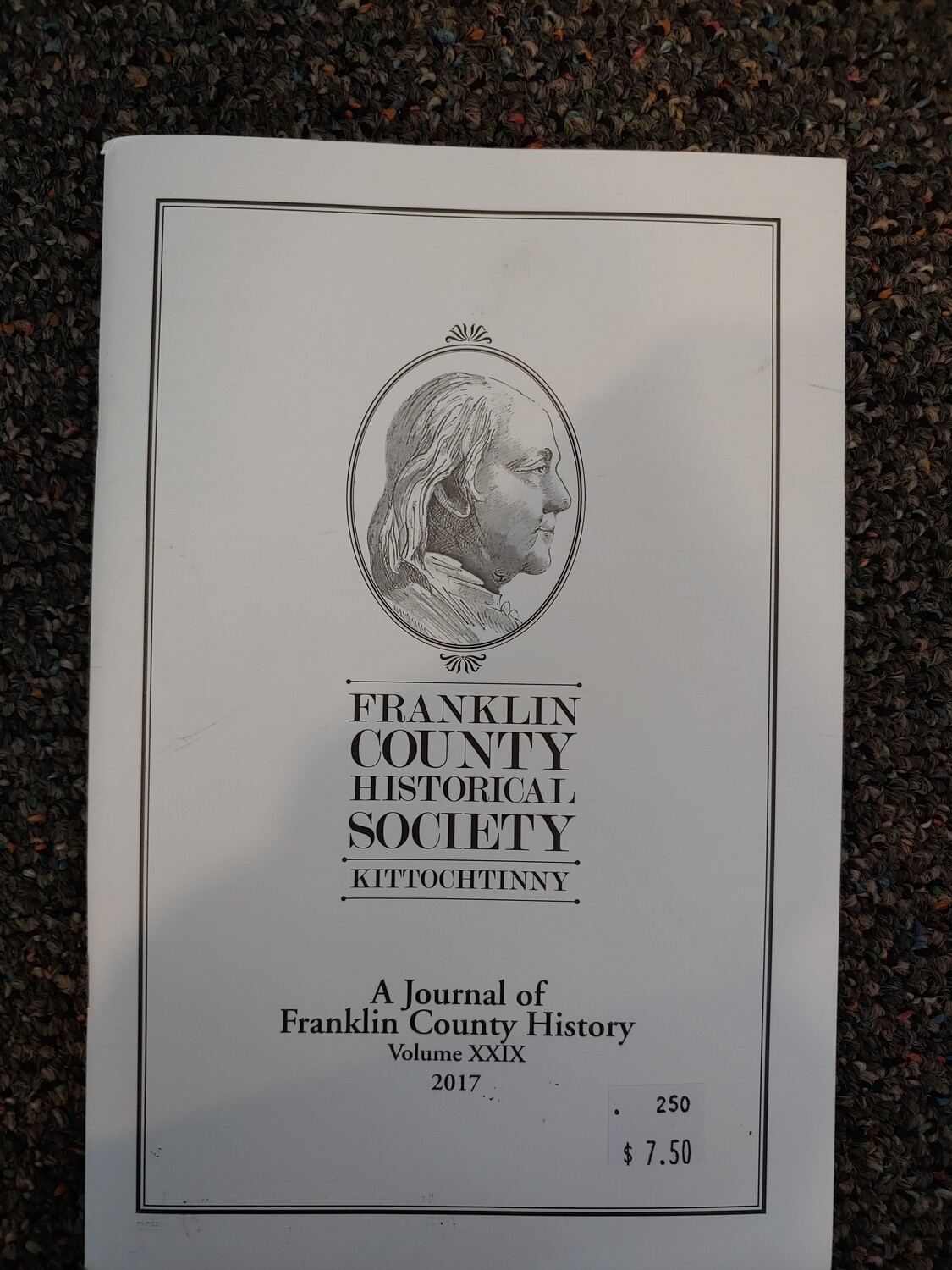 Franklin County Historical Society Journal 2017