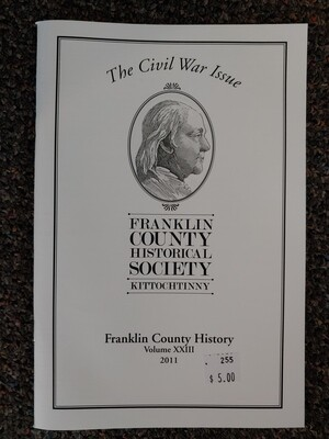 Franklin County Historical Society Journal 2011