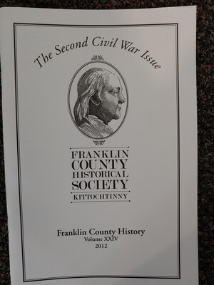 Franklin County Historical Society Journal 2012