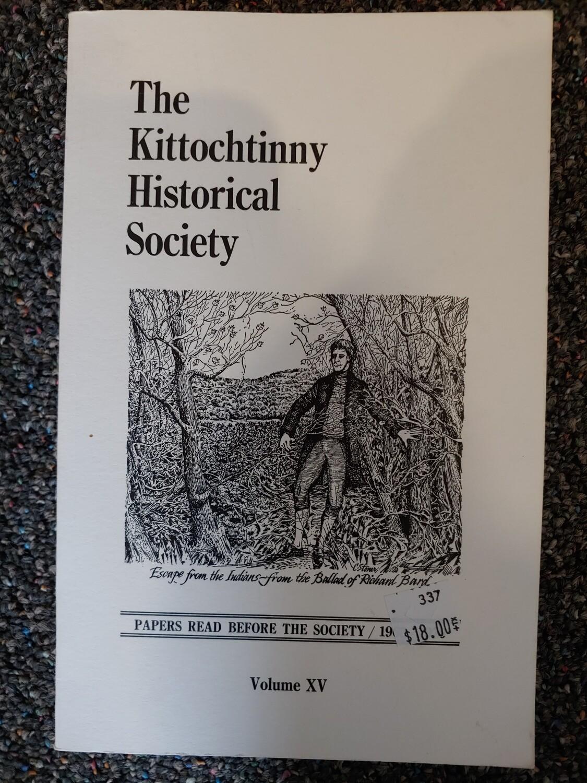 Kittochtinny Historical Society Volume XV